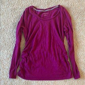 (Maternity) Long sleeve shirt